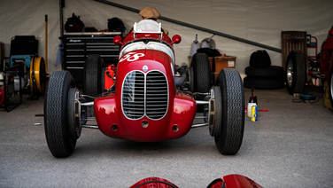 maserati 6cm at the goodwood 77mm