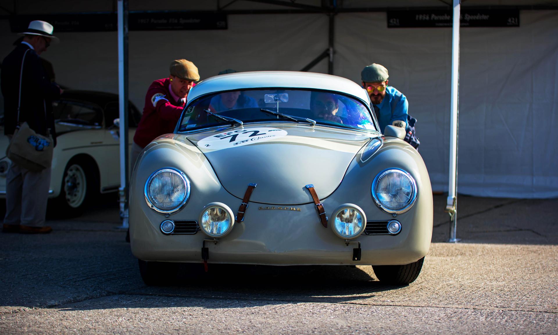 Heiko Ostmann's 1955 Porsche 356 Speedster