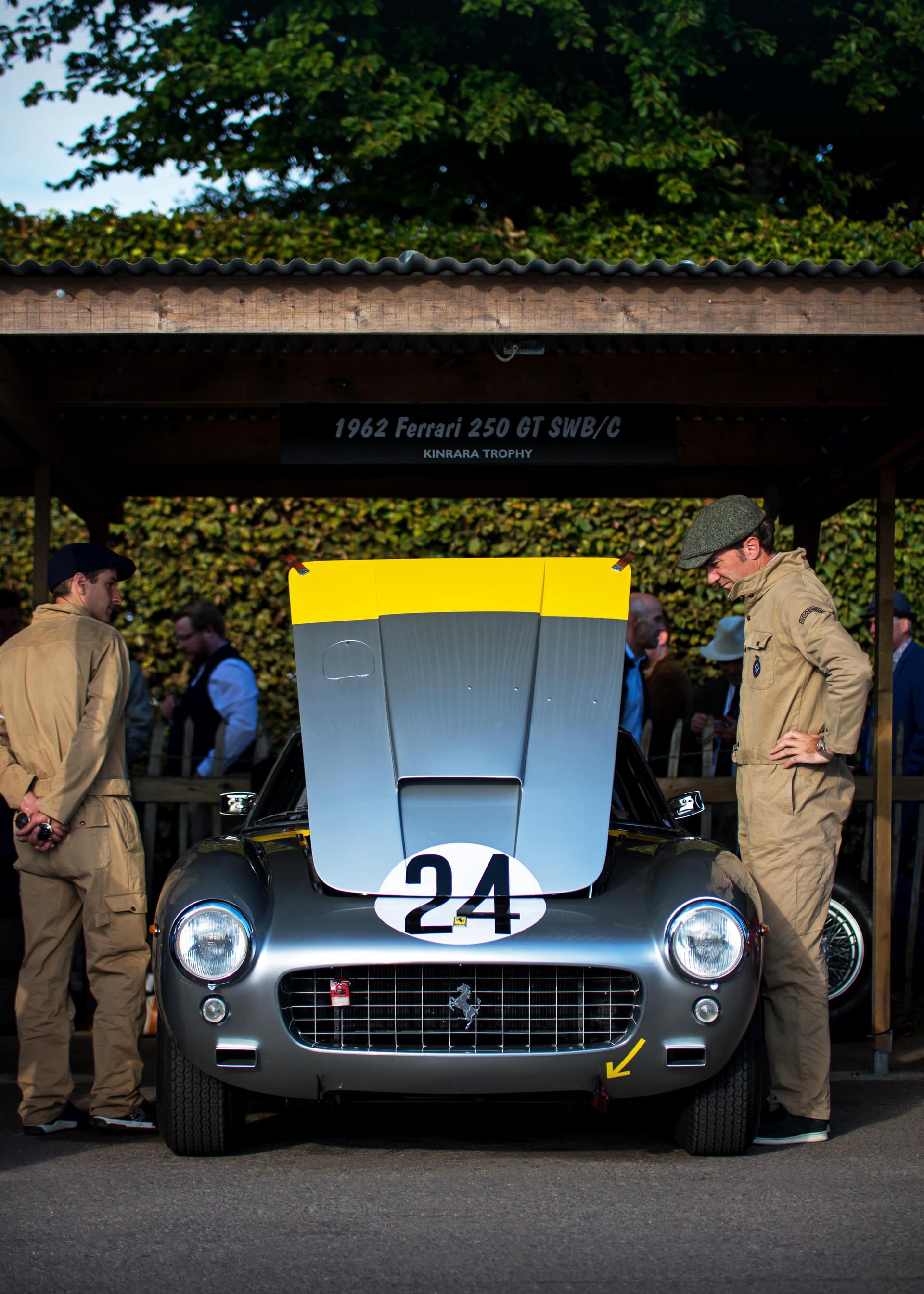 Arnold Meier's 1962 Ferrari 250 GT SWB/C