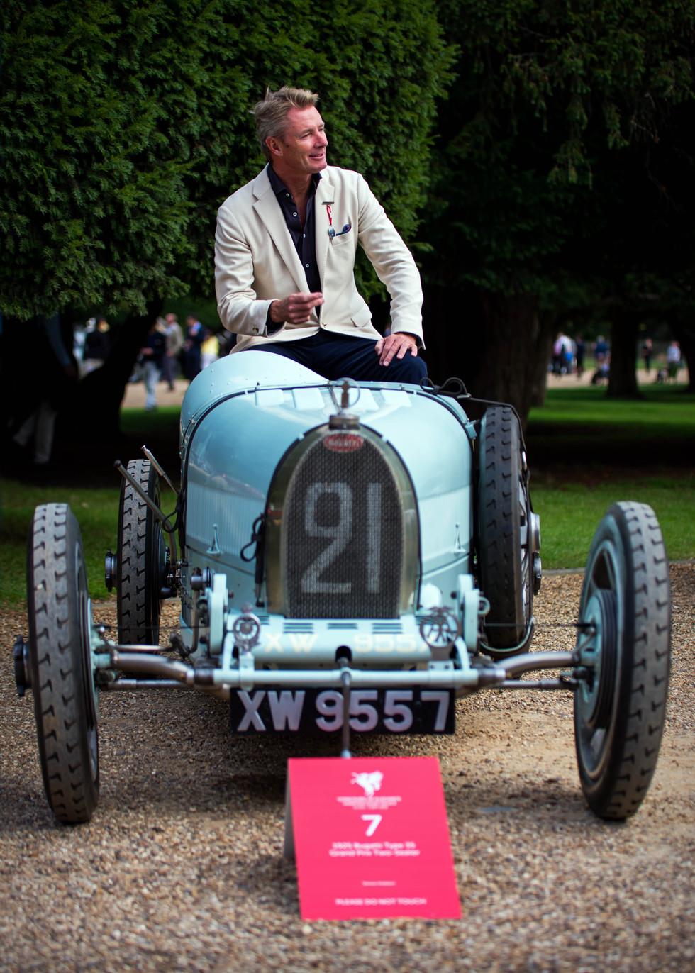 Simon Kidston's 1925 Bugatti Type 35 Grand Prix