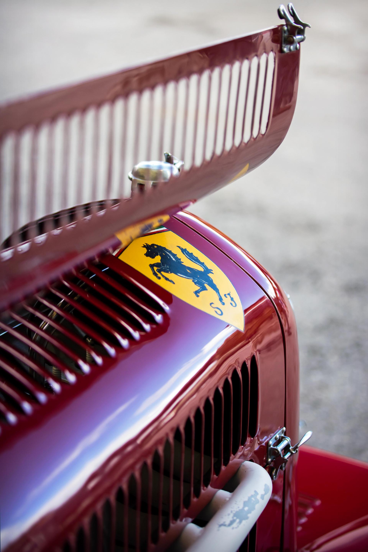 Christian Glaesel's 1932 Alfa Romeo Tipo B at the 2017 Goodwood Revival