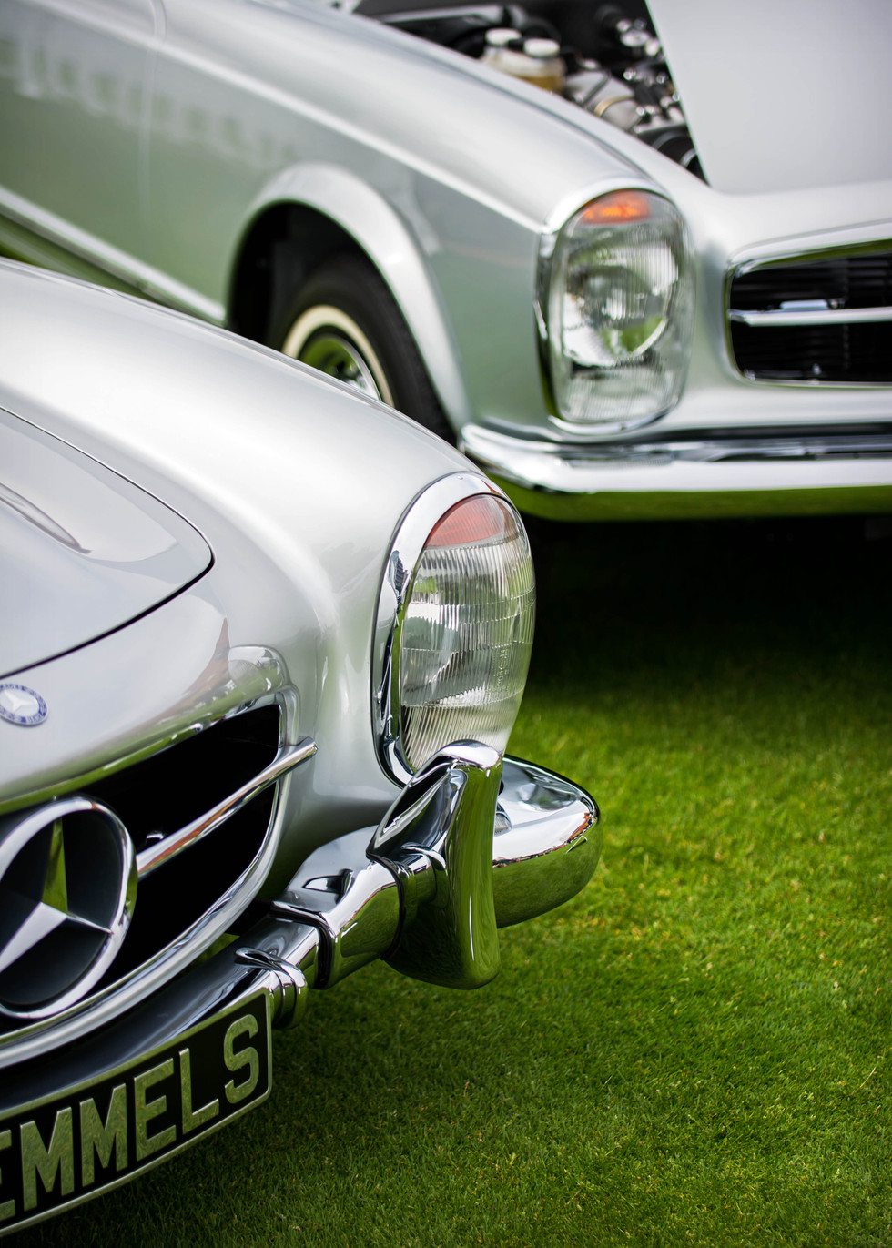 Mercedes Benz 300SL & Pagoda