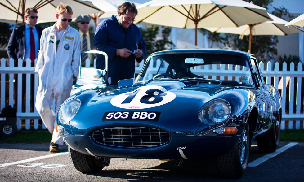John Corrie's 1962 Jaguar E-Type FHC