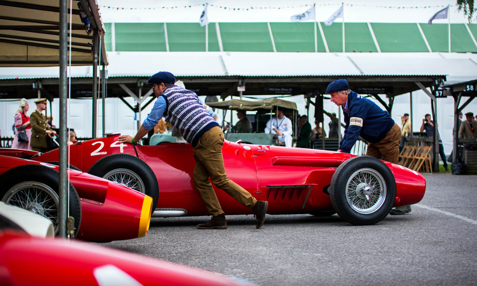 Niall Dyer's 1955 Maserati 250F
