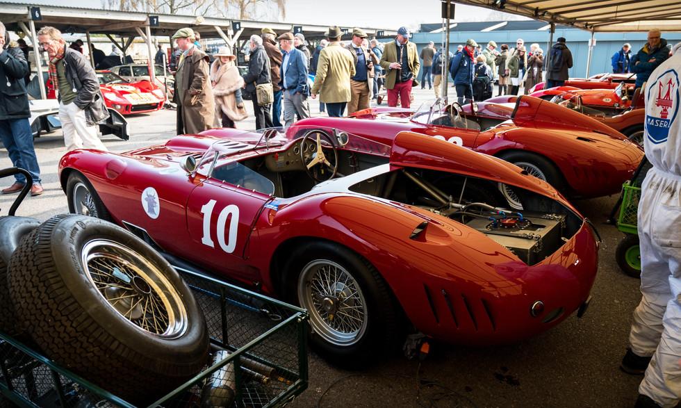 Josef Otto Rettenmaier's 1957 Maserati 450S