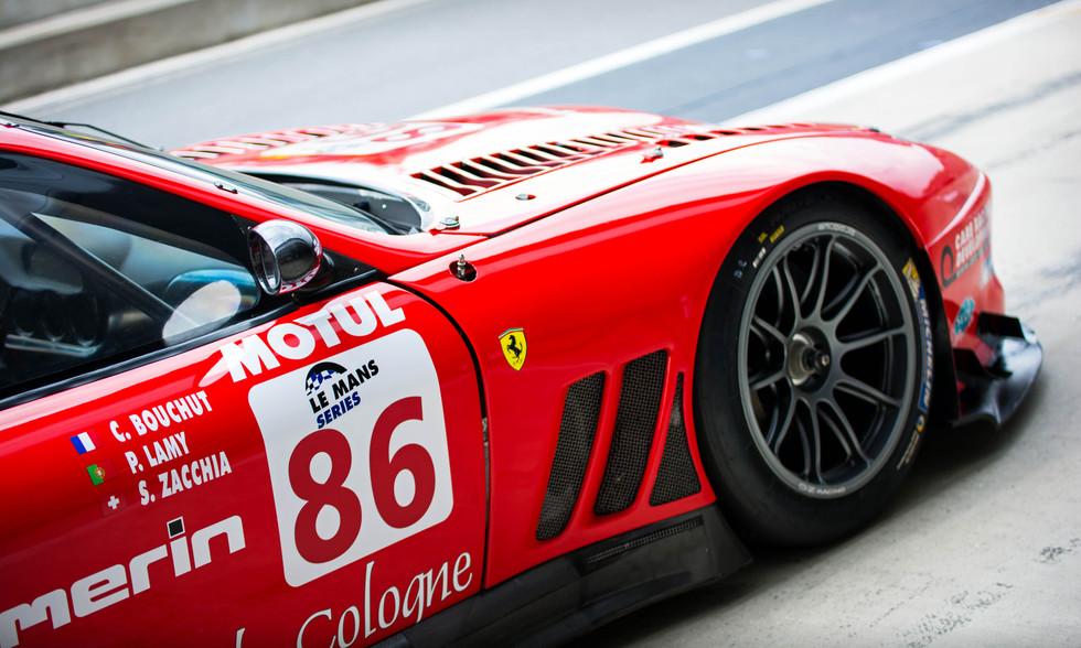 Steve Zacchia's 2002 Ferrari 550 GT1