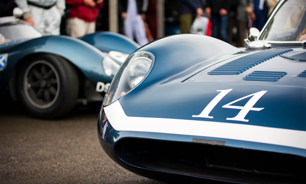 1963 Ecurie Ecosse Tojeiro-Ford at the 2017 Goodwood Revival