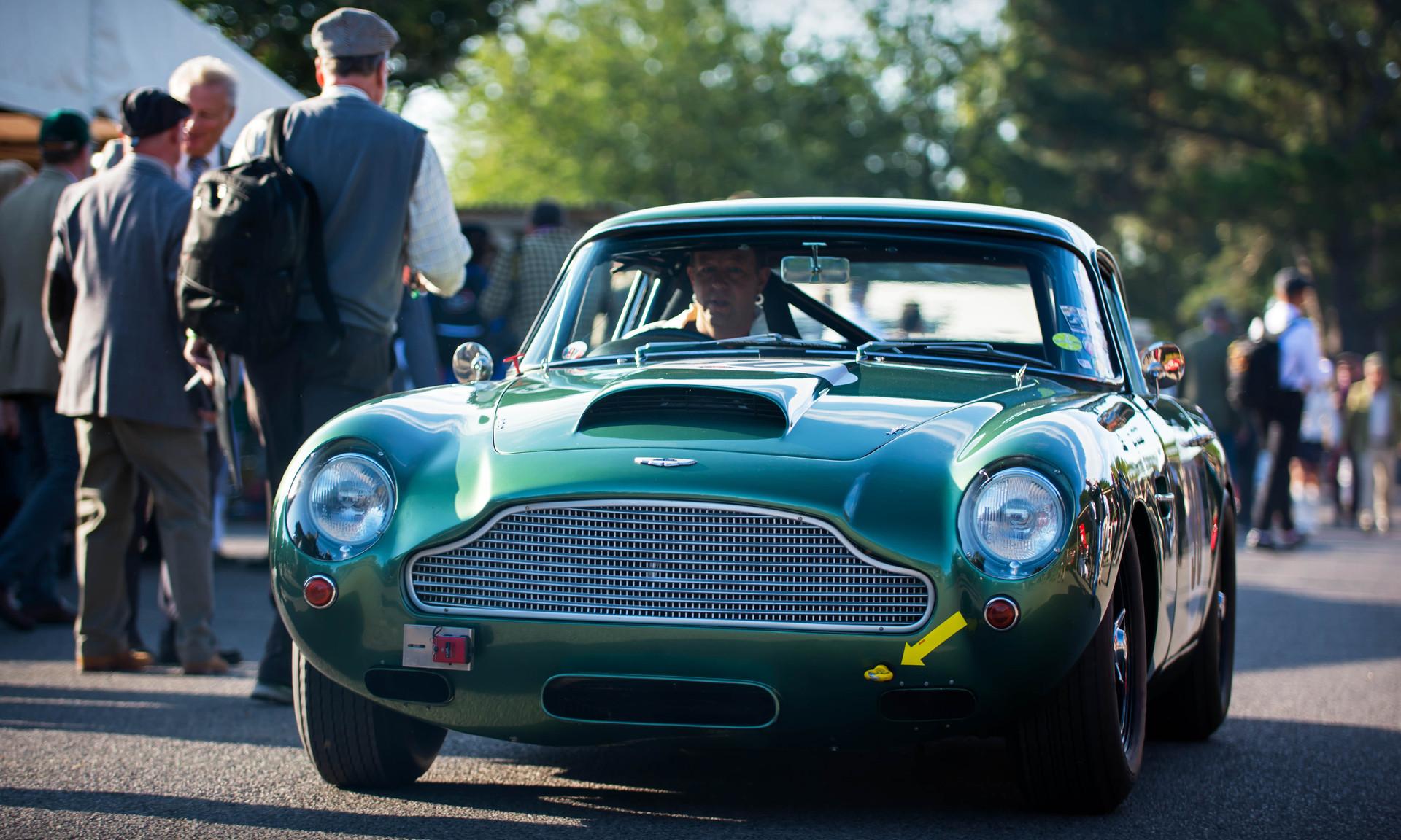 Urs & Arlette Mueller's 1960 Aston Martin DB4 GT