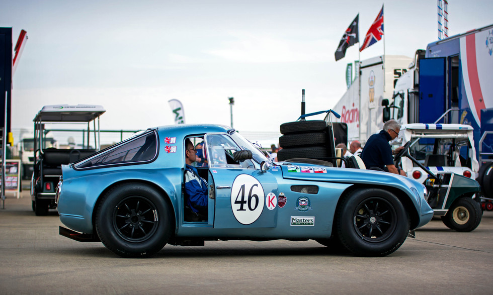 Mike Whitaker's 1965 TVR Griffith