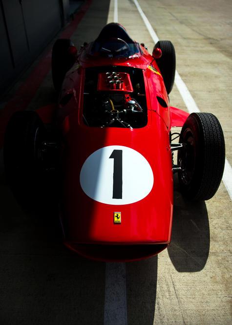 Tony Best's 1960 Ferrari 246 Dino at the