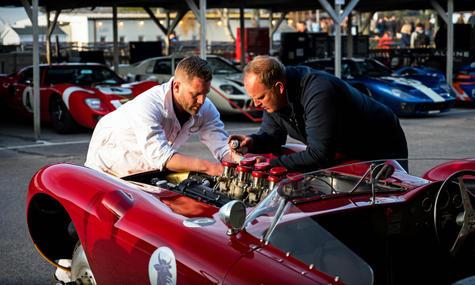 Josef Otto Rettenmaier's 1957 Maserati 4