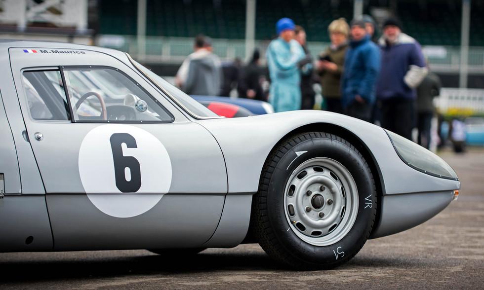 Uwe Nierman's 1964 Porsche 904 Carrera GTS at the Goodwood 76MM