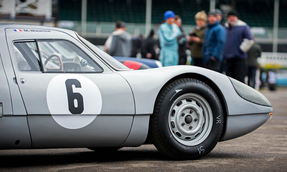 Uwe Nierman's 1964 Porsche 904 Carrera GTS at the Goodwood 76MM