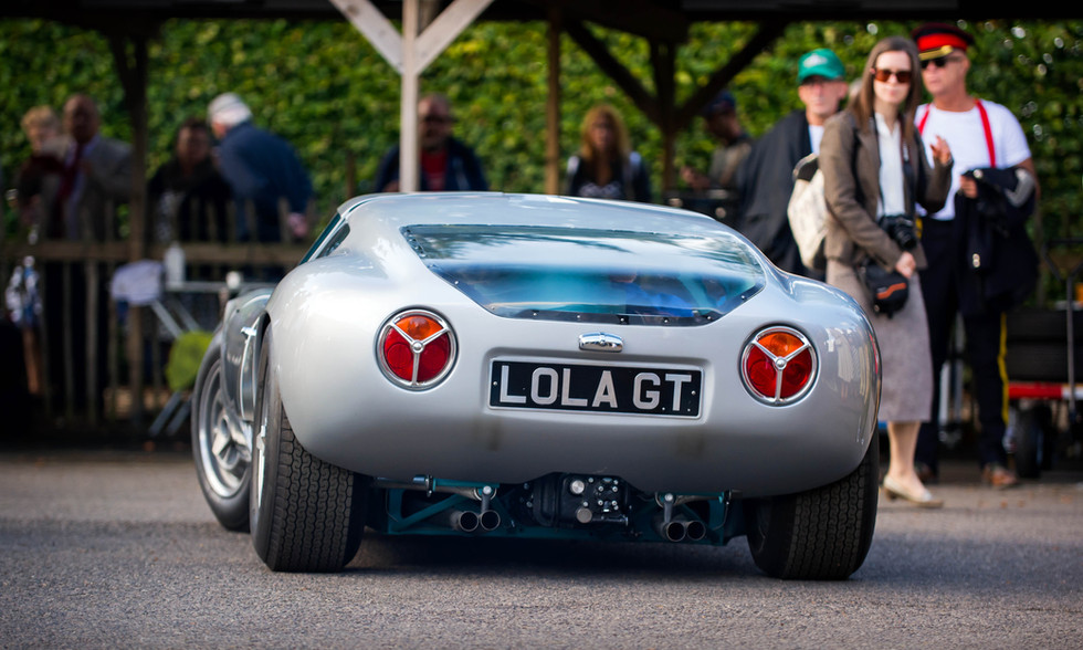 1963 Lola Mk6 GT Ford at the 2017 Goodwood Revival