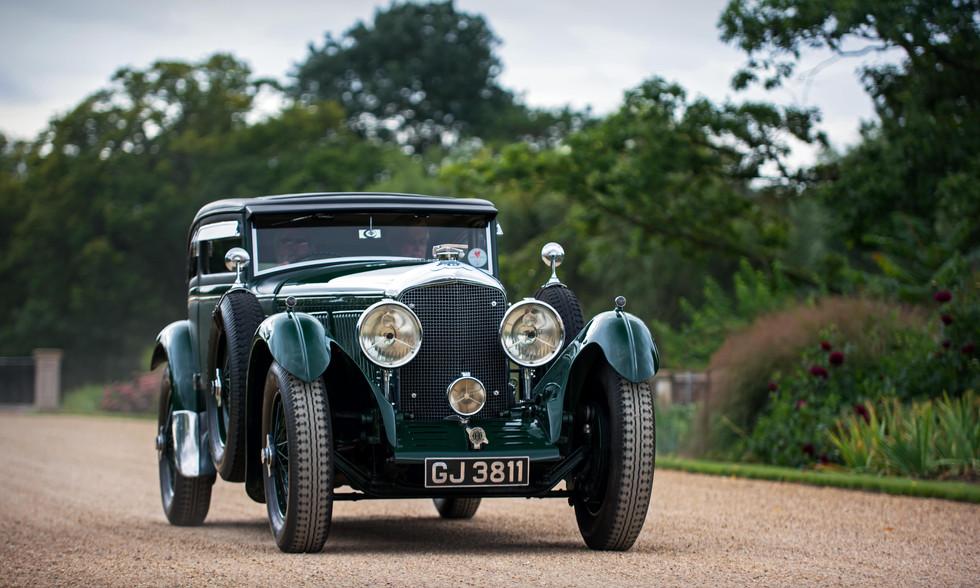 Bruce McCaw's 1930 Bentley Speed Six 'Blue Train'