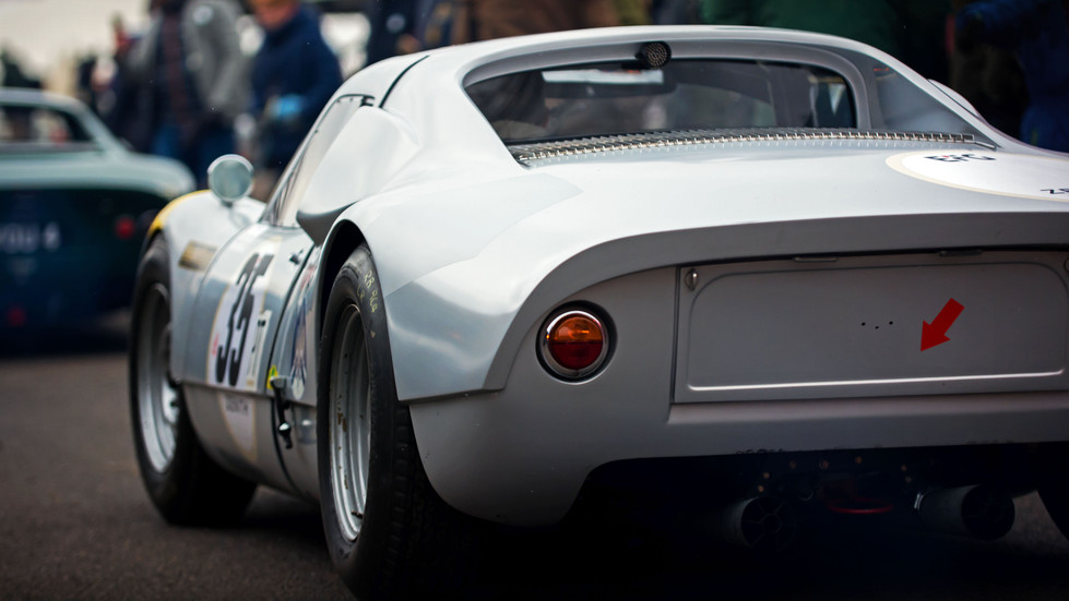 Rainer Becker's 1964 Porsche 904 Carrera GTS at the Goodwood 76MM