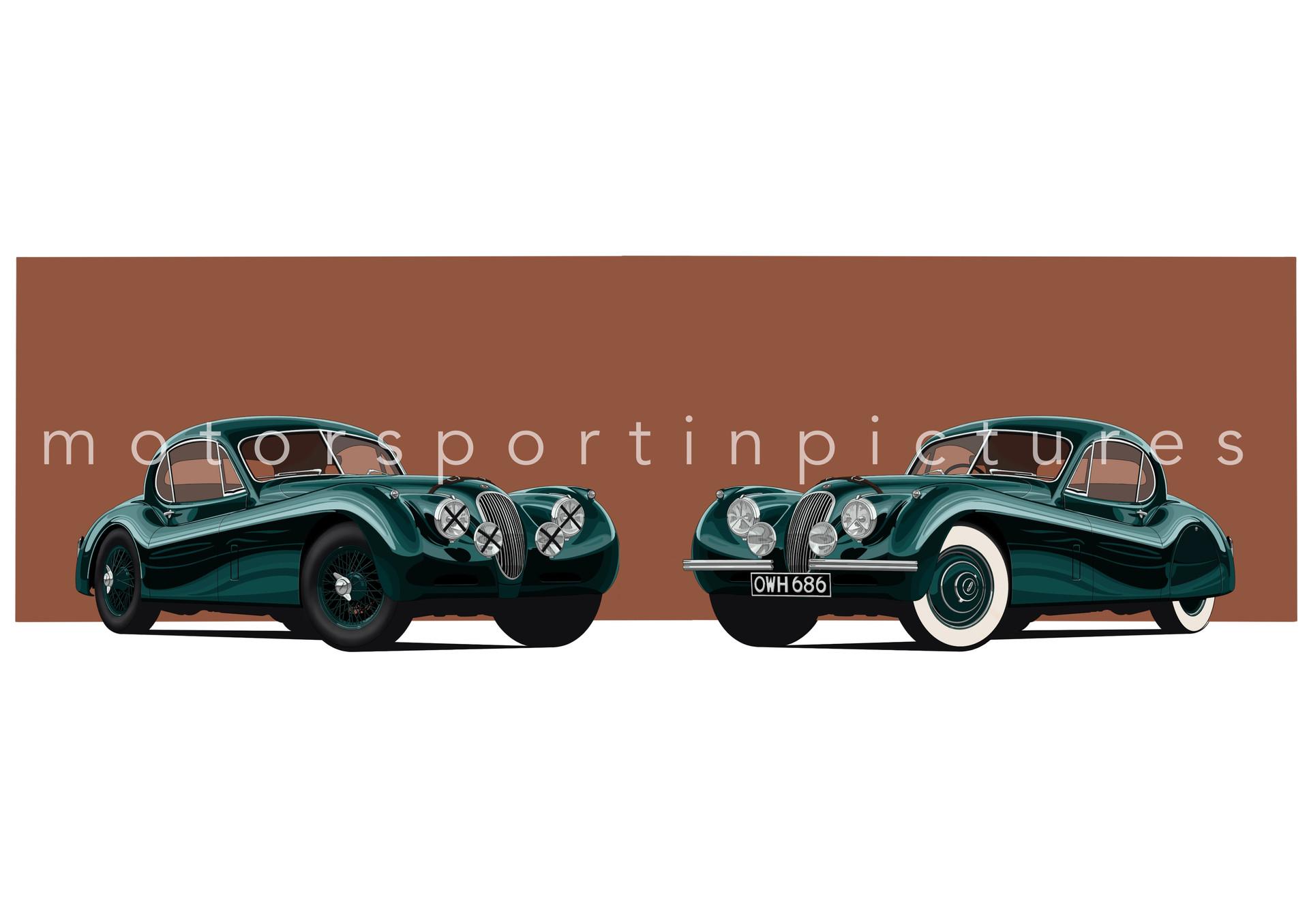 jaguar xk120 duo