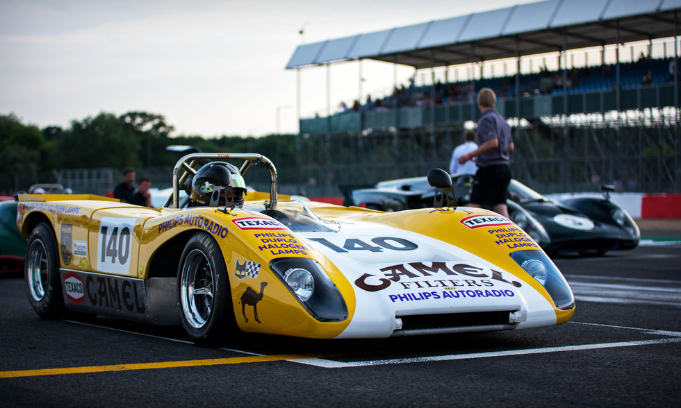 Goncalo Gomes & James Claridge's 1971 Lola T2