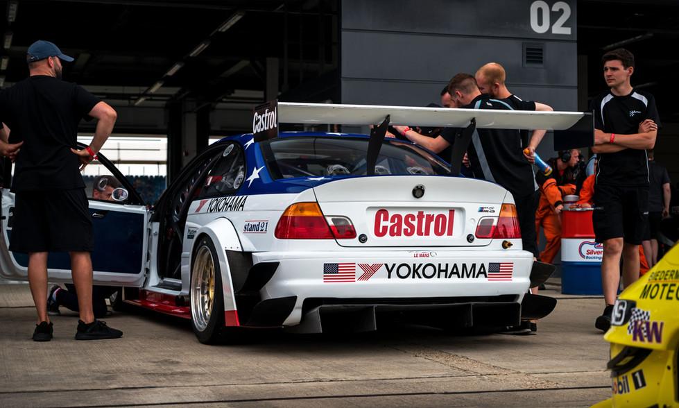 BMW E46 M3 GTR V8