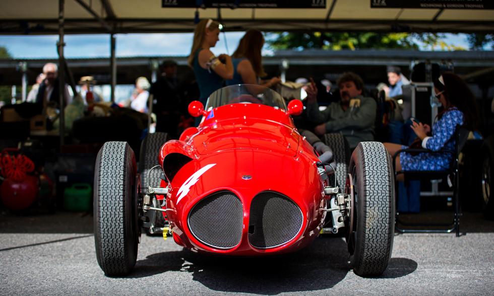 Josef Otto Rettenmaier's 1957 Maserati 250F