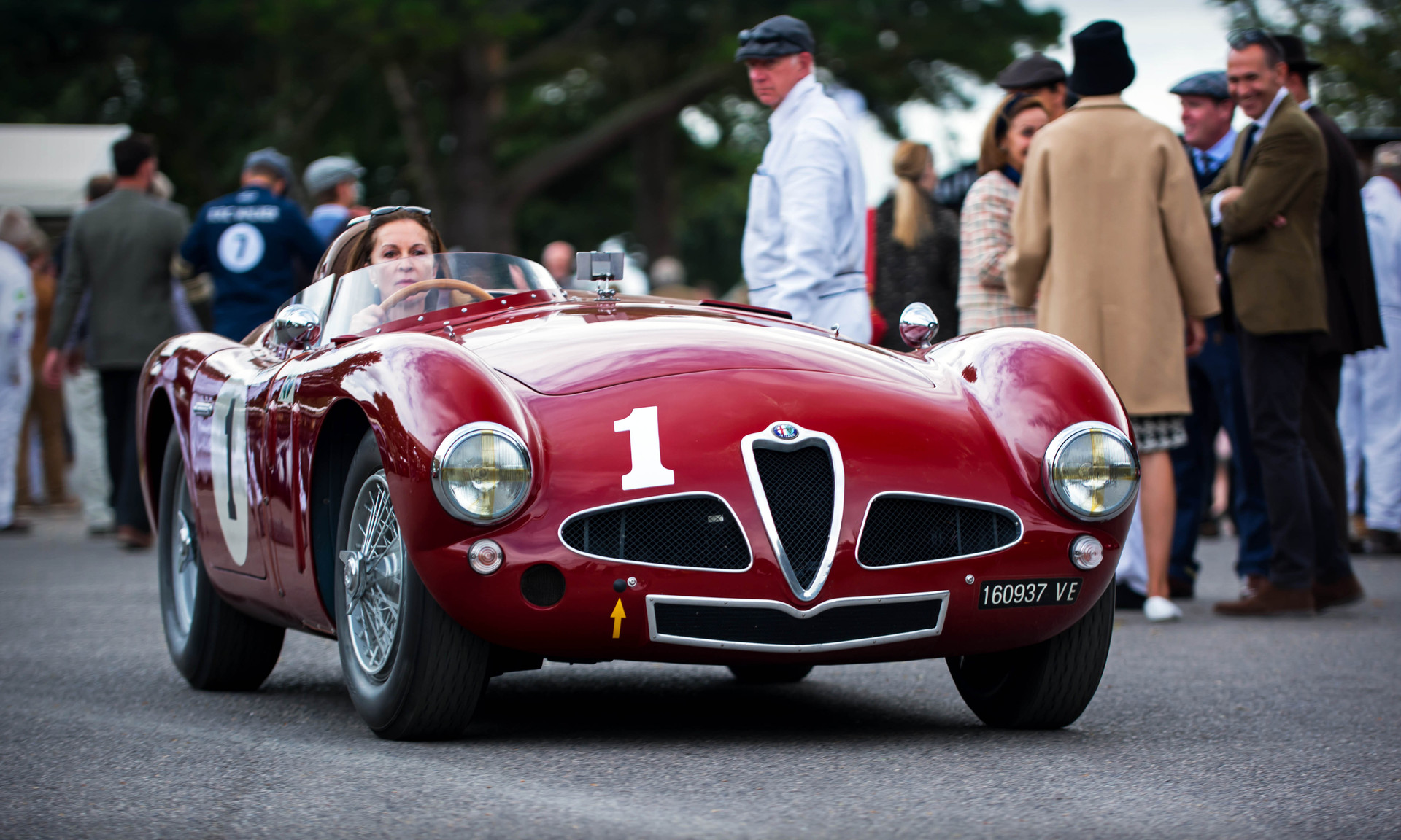 Ellie & Christopher Mann's 1953 Alfa Romeo Disco Volante