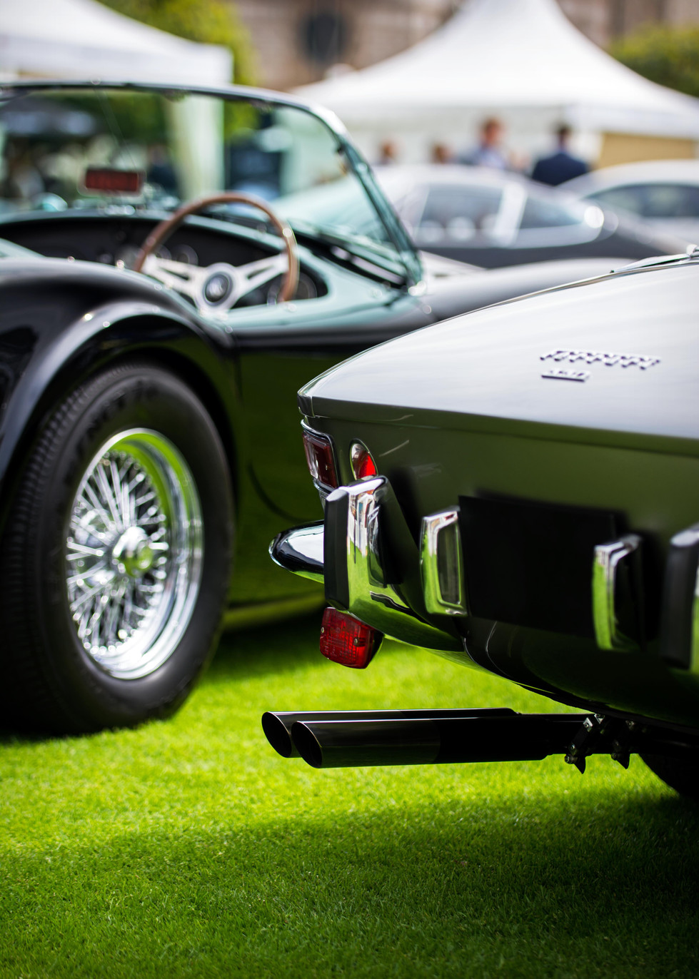 Ferrari 330 GTC & AC Cobra 289