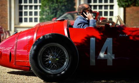 1954 Jean Behra Maserati 250F at the 202