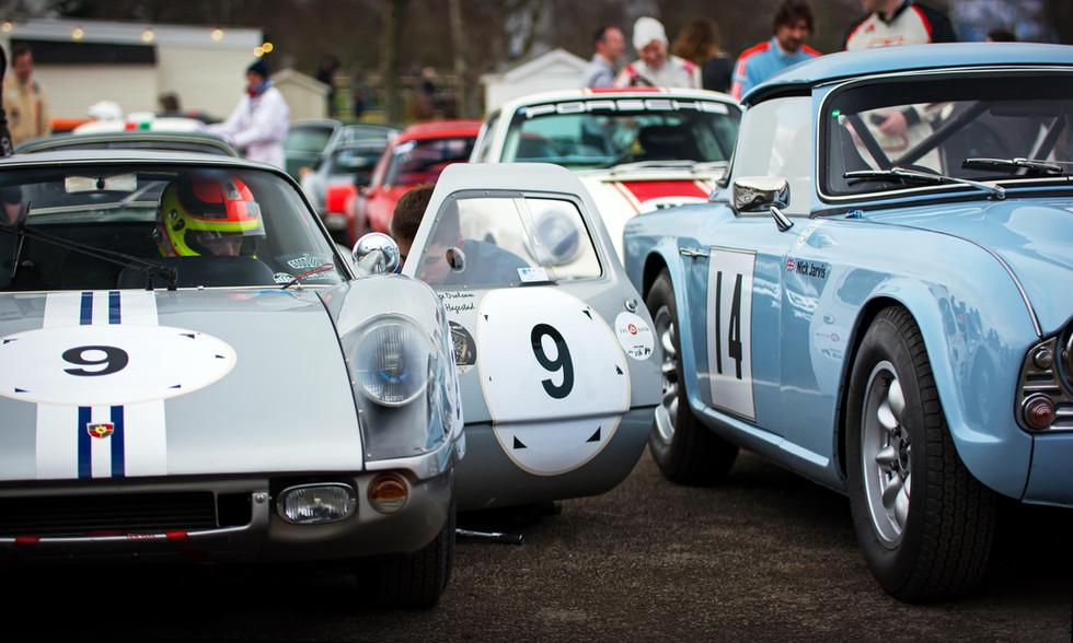 Heiko Ostmann's 1964 Porsche 904 Carrera GTS at the Goodwood 76MM