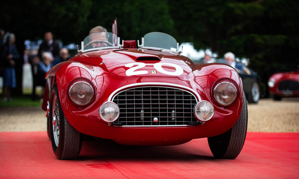 1949 Ferrari 166MM Barchetta