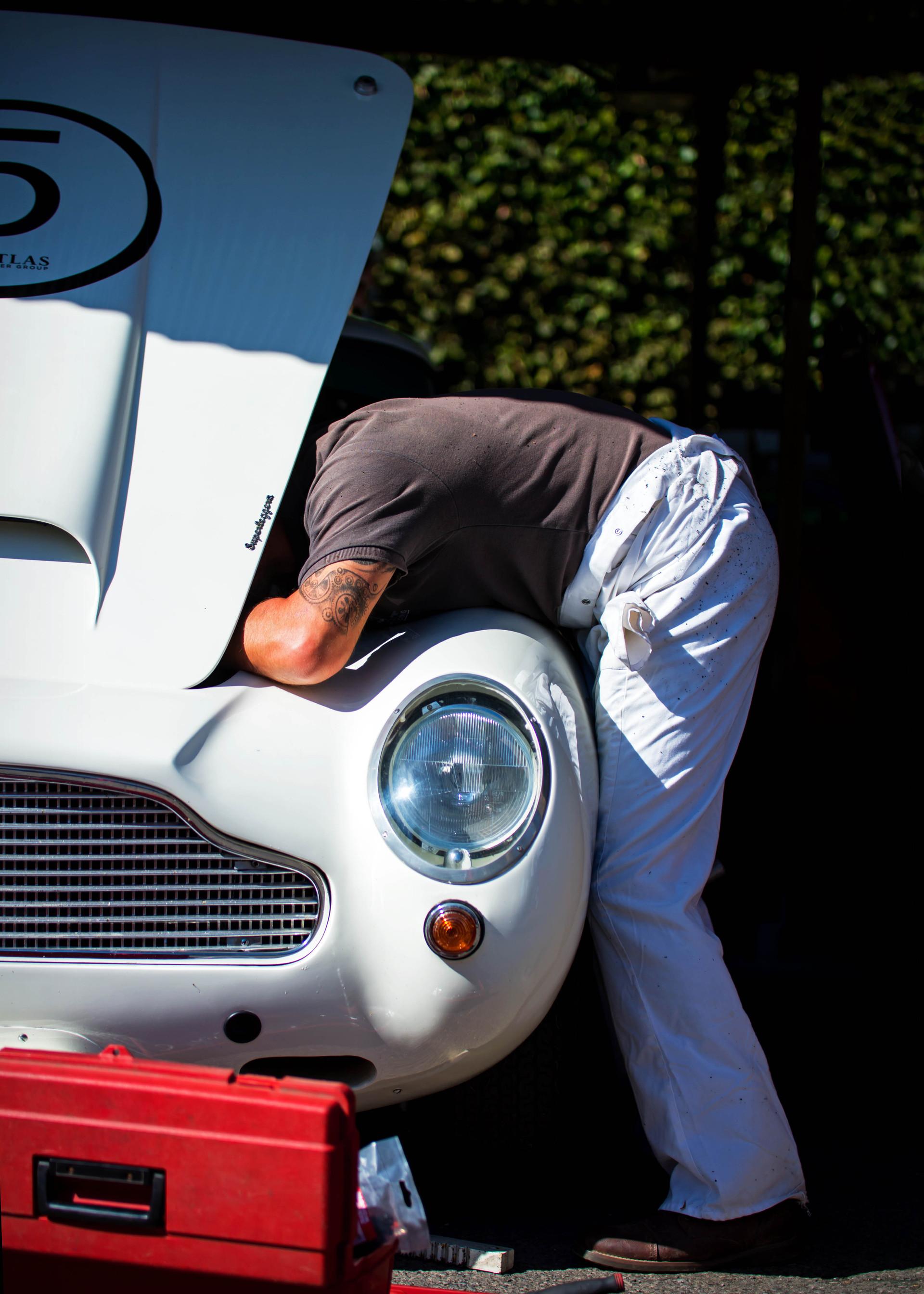 Tom Alexander & Adrian Willmott's 1960 Aston Martin DB4 GT