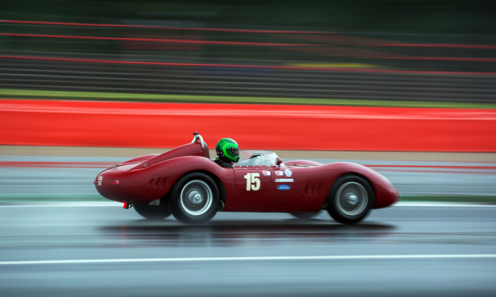 Richard Wilson & Martin Stretton's 1957 Maserati 250S