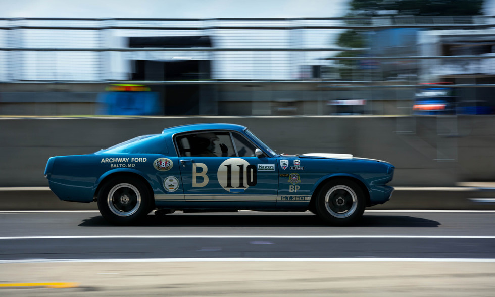 Larry Tucker's 1965 Shelby Mustan