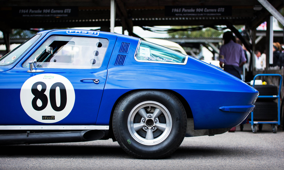 Stuart Morley & Derek Bell's 1965 Chevrolet Corvette Stingray