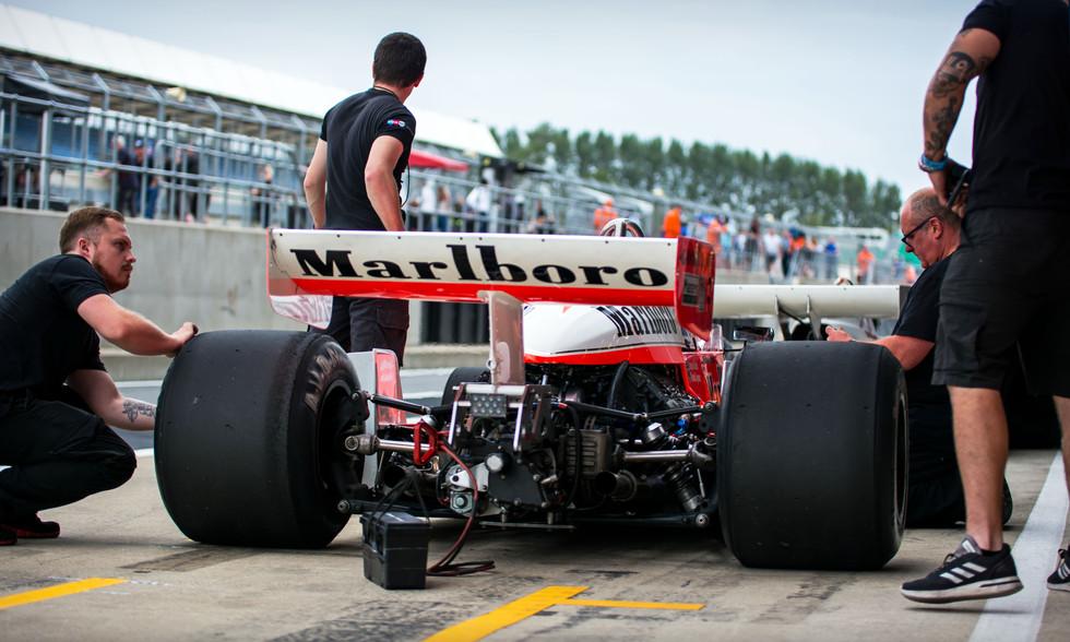 Michael Lyons' McLaren M26 Cosworth F1