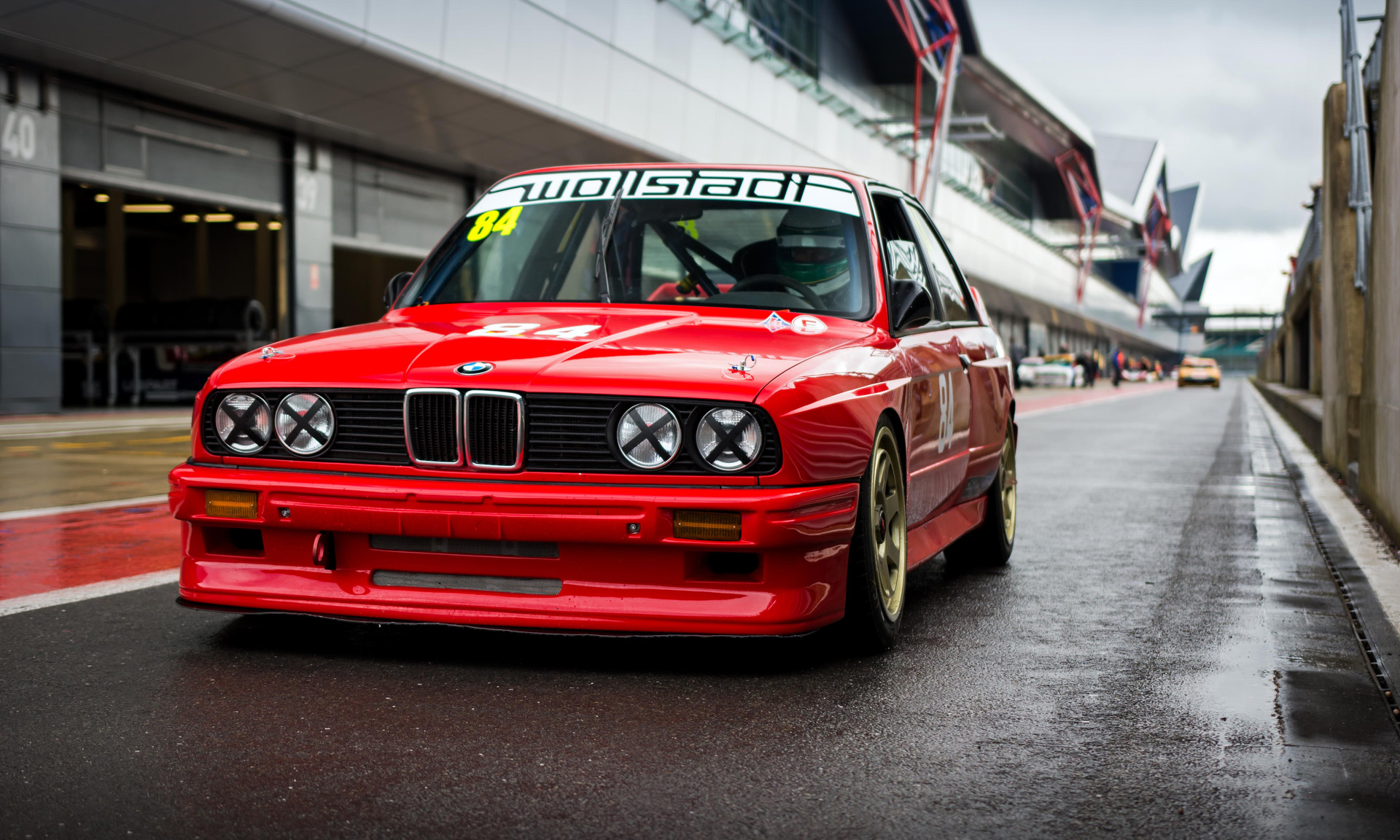 1988 BMW M3 E30 at the 2018 Silverstone Classic Preview Day