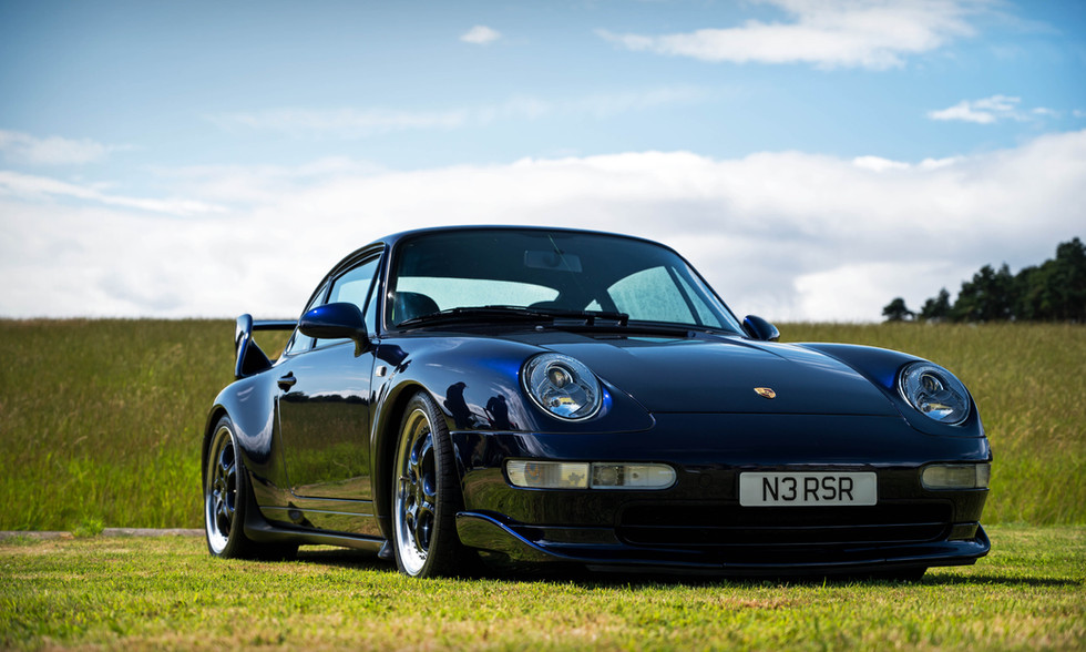 Midnight Blue Porsche 993 Carrera RS