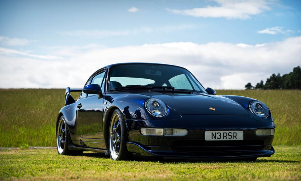 Midnight Blue Porsche 993 Carrera RS