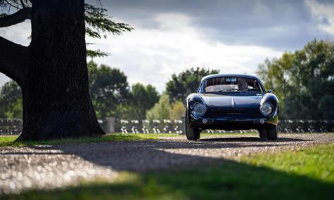 Porsche 356 Zagato Coupe at the 2020 Ham