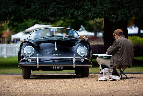 Stewart Morley's 1957 Porsche 356A Speed