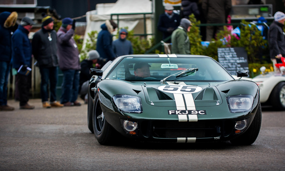 Zollie Birch & John Young's 1965 Ford GT40 at the Goodwood 76MM