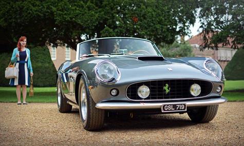 1961 Ferrari 250 California Spyder SWB C