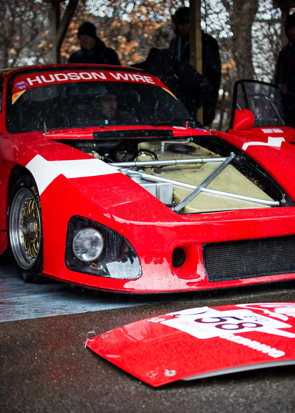 1980 Coca Cola Porsche 935 K3 at the Goodwood 76MM