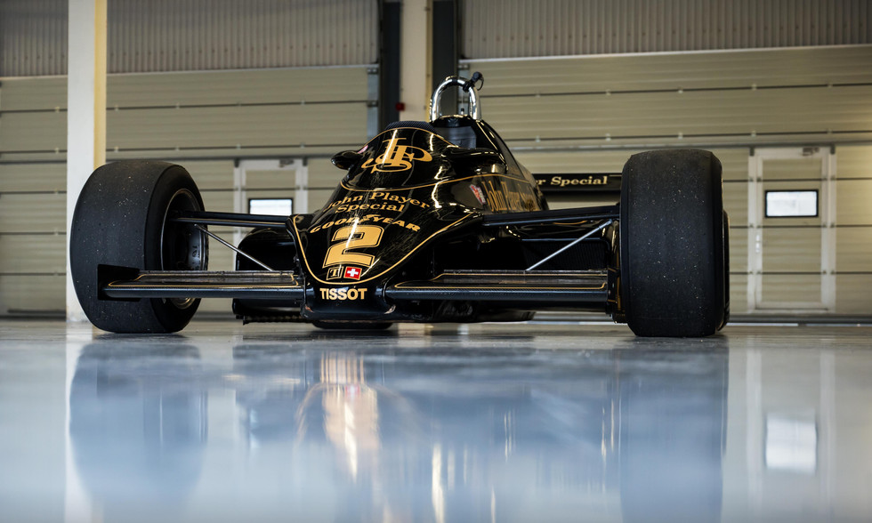 Katsuaki Kubota's 1982 John Player Special Lotus F1