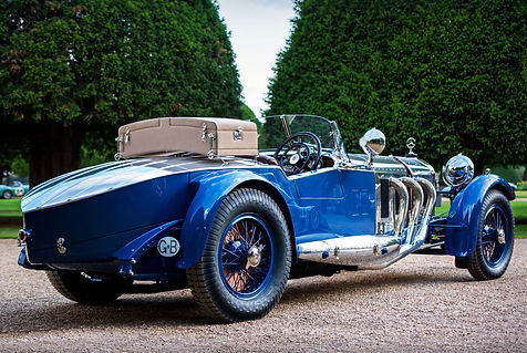 1935 Mercedes-Benz S Barker Tourer at th