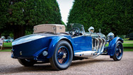 mercedes benz s-type at the hampton court concours