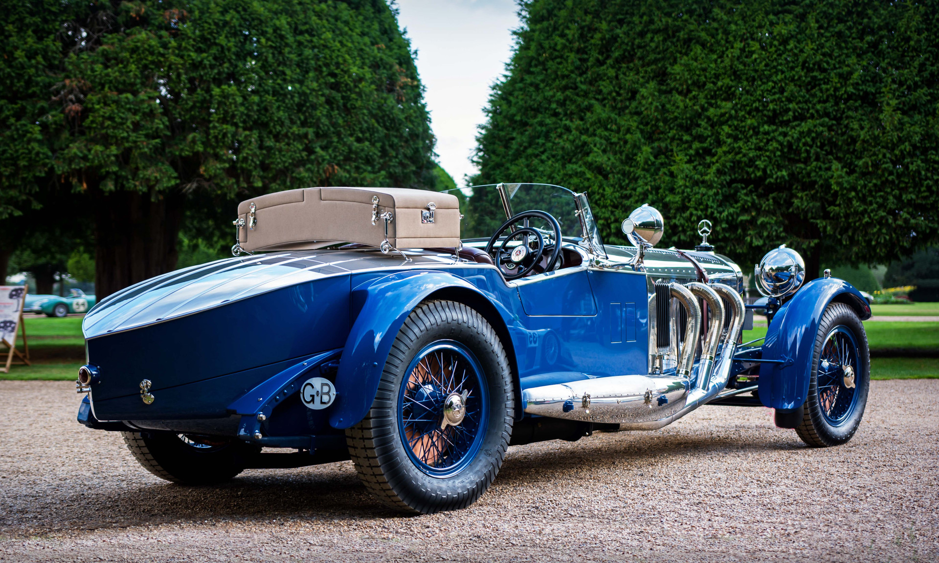 1929 Mercedes-Benz S Barker Tourer at th