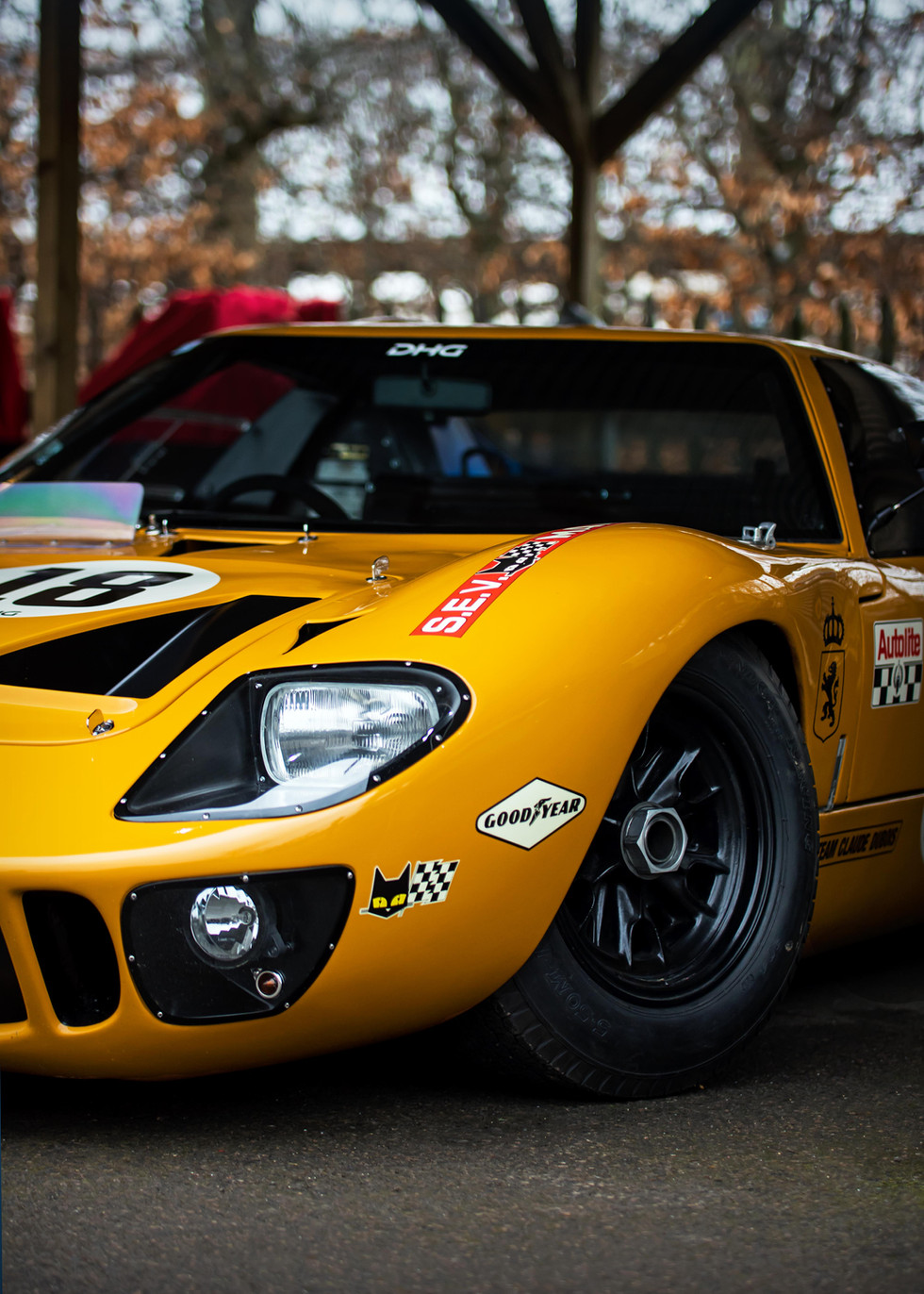 David Hart's 1968 Ford GT40 at the Goodwood 76MM