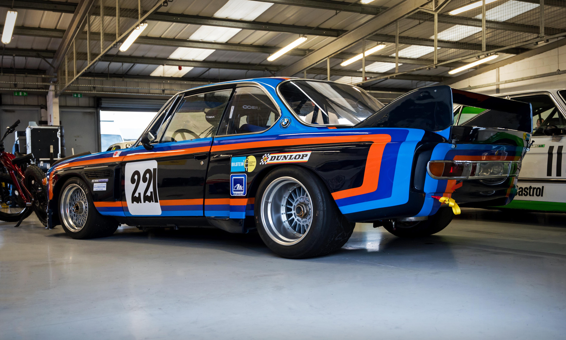 Alex Elliott's 1975 BMW 3.0 CSL Batmobile