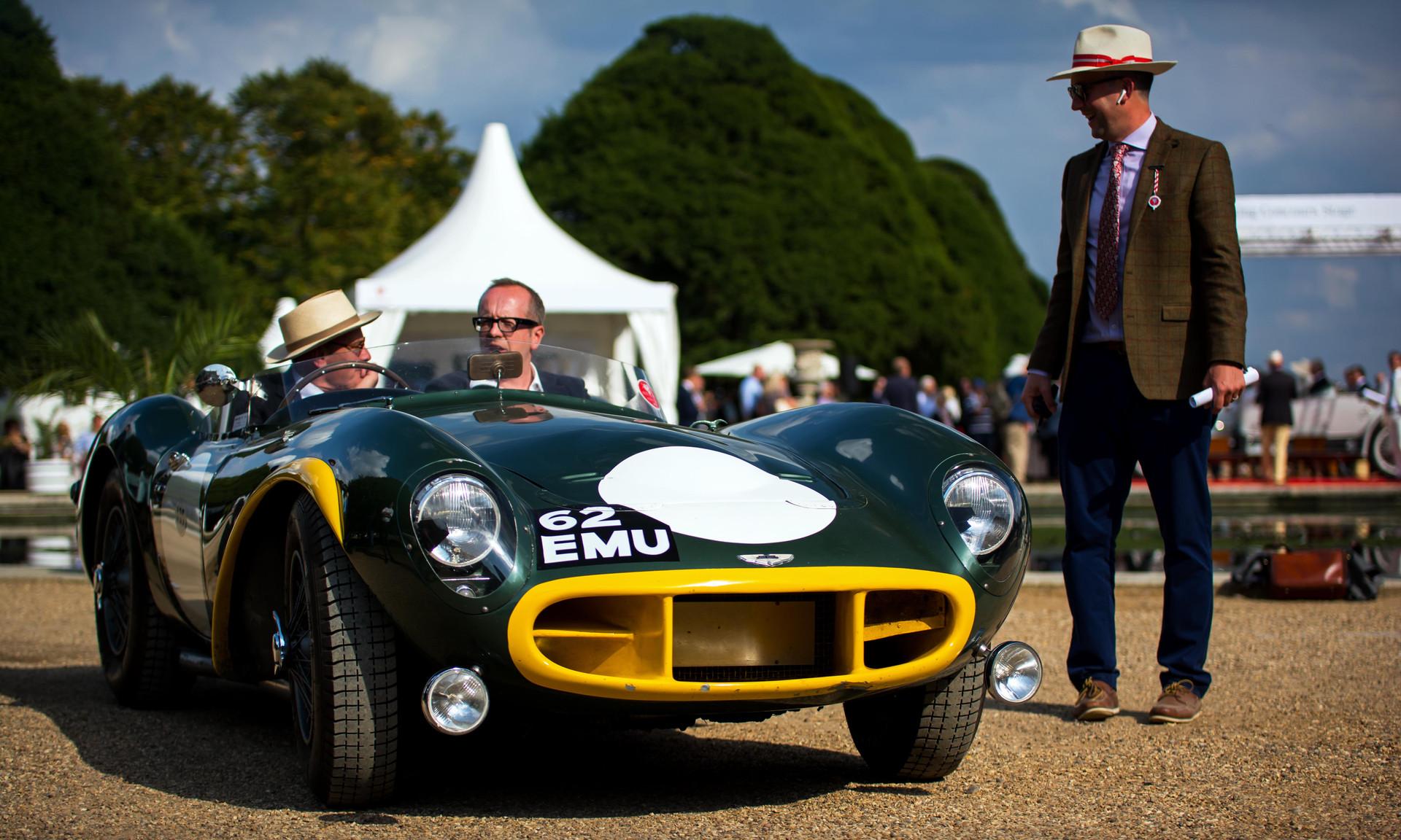 1954 Aston Martin DB3S Team Car