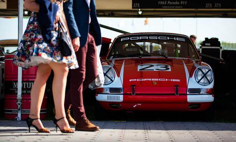 James Toye's 1965 Porsche 911 at the 201